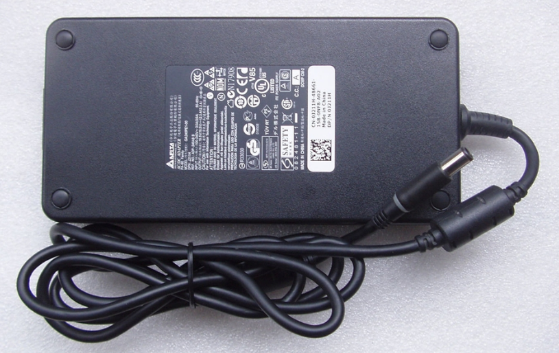 Original 240W Slim Dell Precision M6800 J938H,PA-9E AC Adapter + Free Cord