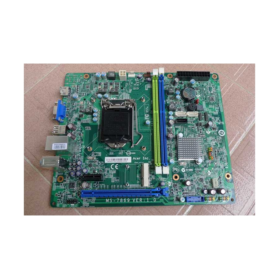 Original For Acer Aspire TC-605 MS-7869 Intel H81 LGA1150 Desktop PC Motherboard