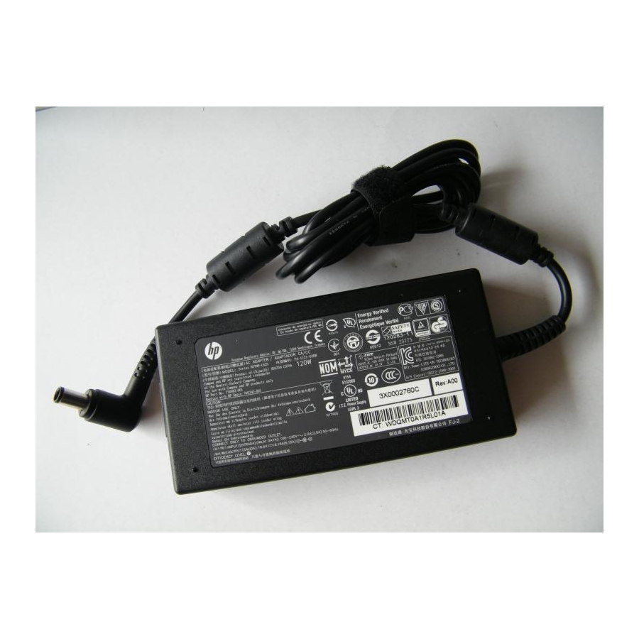 Original 120W 19.5V 6.15A AC Adapter For HP Omni 120-1017d