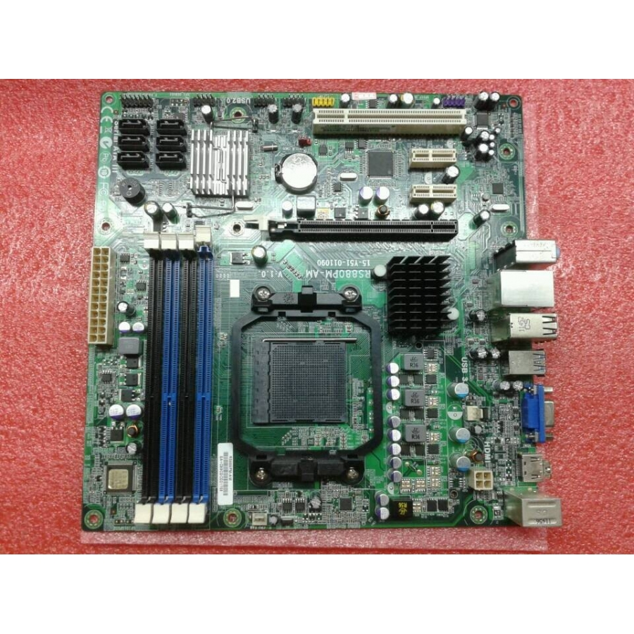 Original For Acer Gateway RS880PM-AM AMD 880G AM3 DDR3 Desktop Motherboard