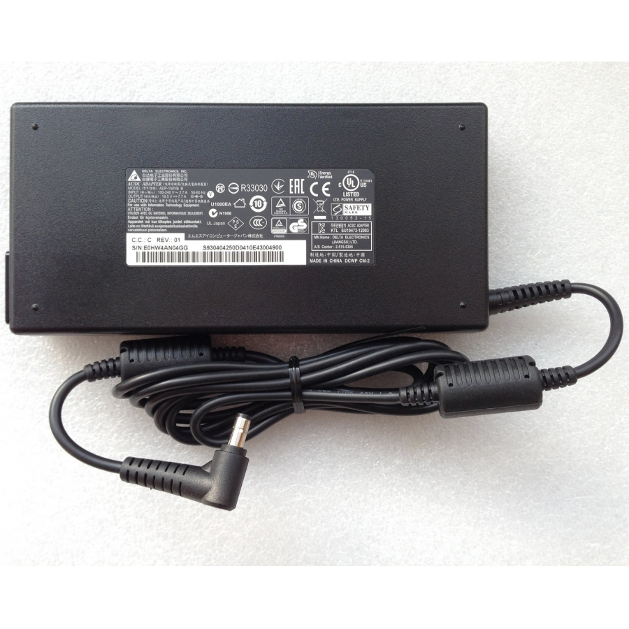 Original 120W Delta MSI GE70 0ND-033US Gaming Adapter Charger + Free Cord