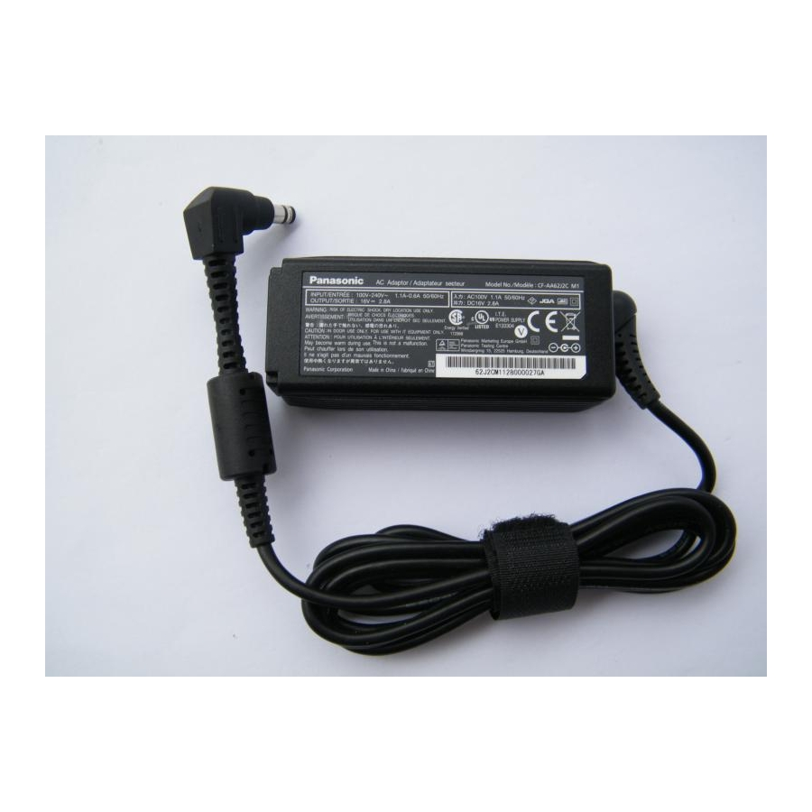 Original 45W AC Adapte/Cord For Panasonic CF-M216V CF-R3 CF-R4