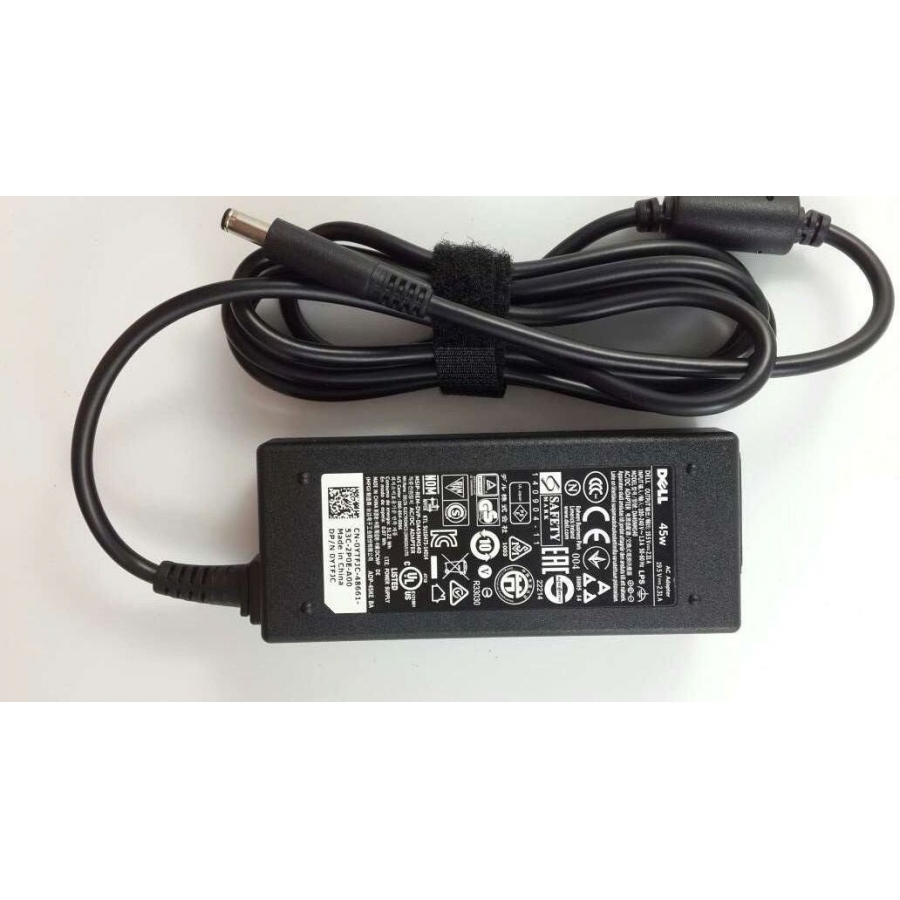 Original Dell Power AC Adapter Charger for CN-0YTFJC-48661-53C-20ZQ-A00 45W PSU