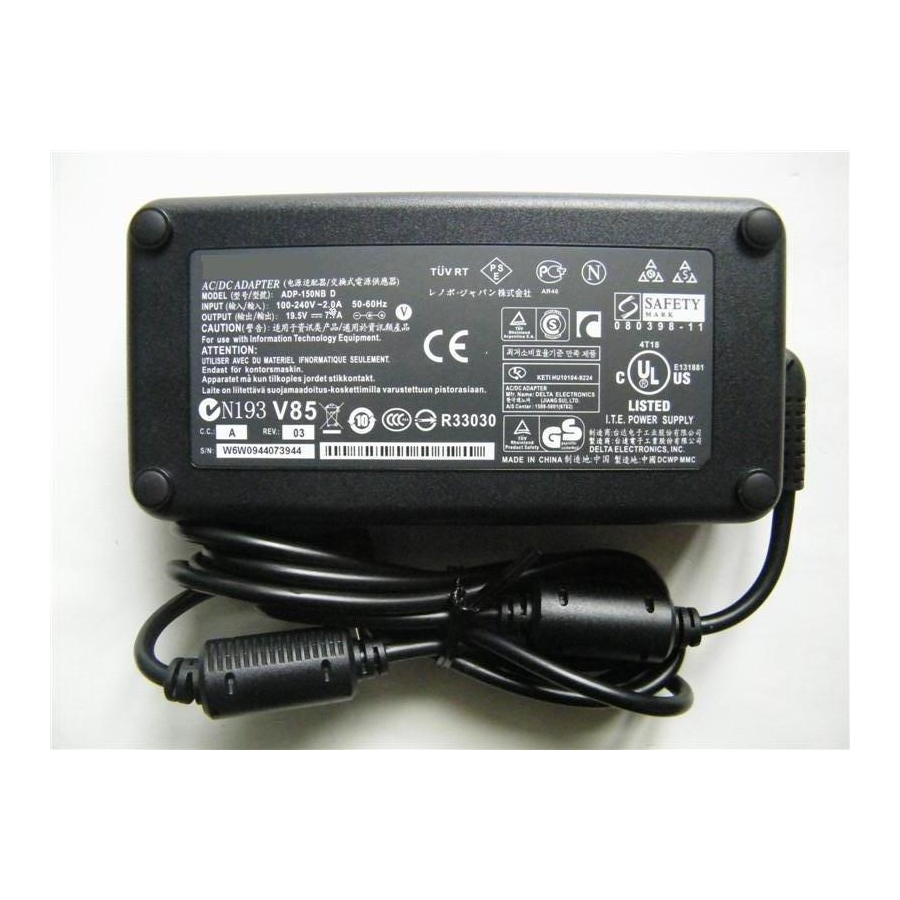 Original 150W Razer Blade RC30-0083 RC30-00830100 AC Adapter Charger Cord