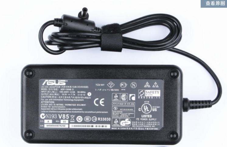 Original 19V 7.9A 150W Asus G73Sw-Bst6 G73Sw-Bst8 AC Adapter Charger Power Supply