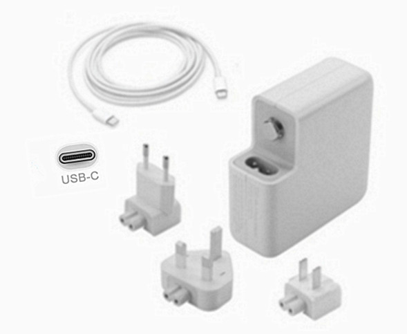 61W USB-C Charger for Apple MacBook Pro MLUQ2S/A