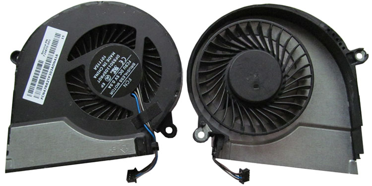 Original New HP Pavilion 17-f233ng Cup Cooling Fan